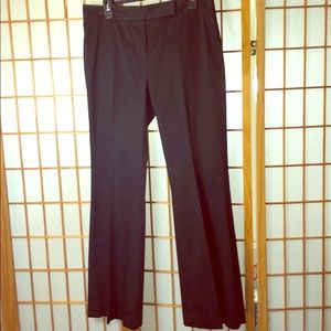 Tahari 'menswear' trousers - pinstripe suit look